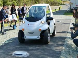 Universitas di Jepang Kembangkan Mobil Listrik Tanpa Baterai