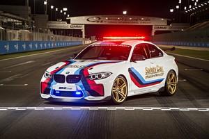 Mobil-mobil BMW di MotoGP Qatar 2016