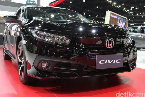 Honda Civic Generasi Terbaru Hadir di Bangkok