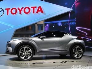 Awal Tahun Depan Toyota Pasarkan C-HR ke Australia