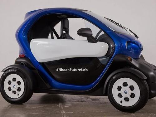 Mobil Listrik Mini Nissan Diuji di New York