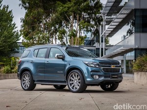 Chevrolet Bakal Luncurkan SUV Anyar di GIIAS 2016, Trailblazer?