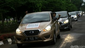 Risers Etape 4 Tiba di Bandar Lampung