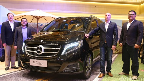 MPV Paling Mewah Mercedes-Benz New V-Class Meluncur Rp 1,299 Miliar