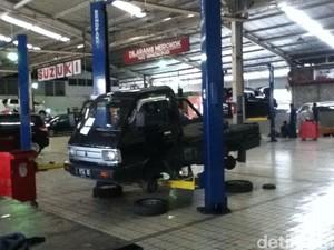 Suzuki Buru Mobil dengan Nomor Rangka Tidak Aktif