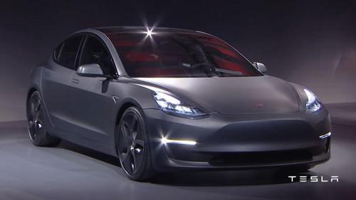 Tesla Resmi Kenalkan Model 3, Harganya Rp 400 Jutaan