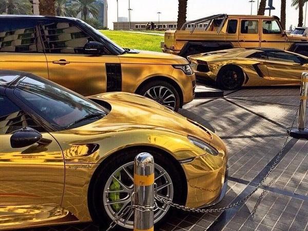 Mobil Mewah Milik Miliarder Arab Mendarat di Eropa