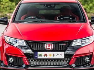 Pelat Nomor Kendaraan Bakal Ada Emoji-nya