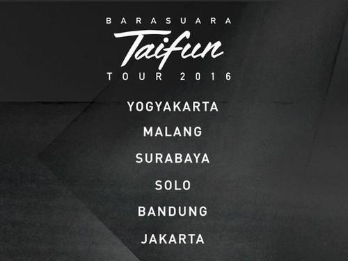04011846 be59 4ffb 899a 794b7b3731a9 43 » Ini 6 Kota Tujuan Barasuara Di 'Taifun Tour 2016'