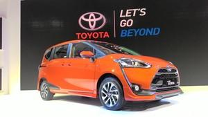 Setelah Diluncurkan di IIMS, Toyota Sienta Mejeng di Enam Kota