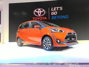 Toyota Resmi Luncurkan Sienta, Ini Wujud Aslinya