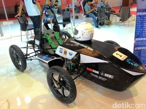 Pakai Baterai Lithium, Mobil Listrik Mahasiswa UGM Bisa Tempuh 40 Km