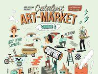 Catalyst Art Market Jaring Seniman dan Ilustrator Muda untuk Berkreasi