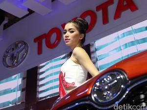 Si Cantik Toyota Jadi Miss Motor Show 2016