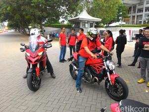 Pembeli Ducati Bakal Dilatih Dasar Safety Riding