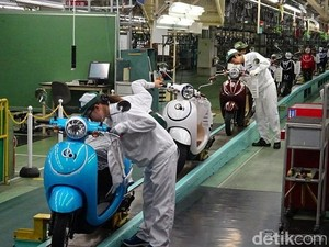 Produksi Motor Jepang Turun 6,6%