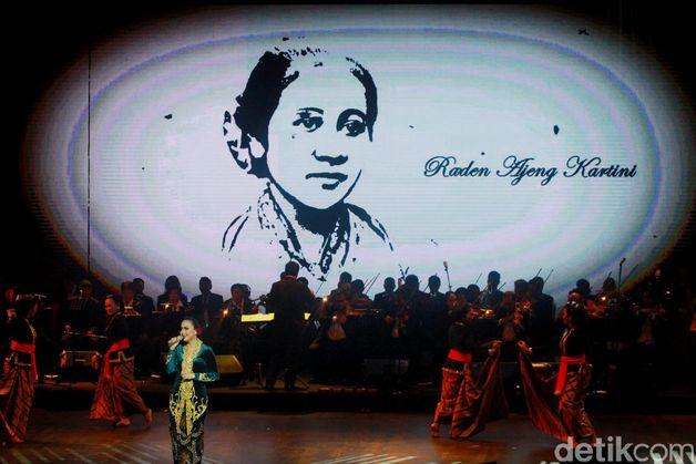 Konser tersebut digelar bertepatan dengan perayaan Hari Kartini. Pool/Gus Mun/detikFoto