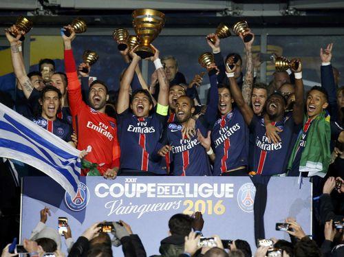 Pertahankan Gelar Coupe de la Ligue, PSG Kian Dekat dengan Treble Domestik