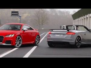 Audi Pamer Ketangguhan TT RS
