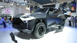 IAT Kalman, Monsternya SUV dari China