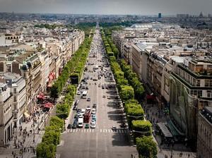 Selamat Tinggal Mobil dan Motor, Paris Larang Kendaraan Lewat Jalan Ini