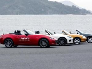 Mazda Telah Lahirkan Sejuta MX-5 Miata