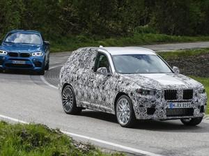 Bocor, BMW X3 M Mulai Tampak Terlihat