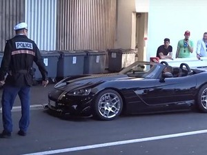 Knalpot Berisik, Polisi Monako Tilang Pemilik Mobil Sport