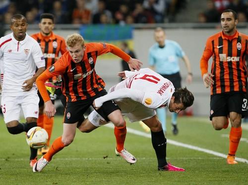 Sevilla Cetak Dua Gol Tandang, Tahan Imbang Shakhtar 2-2