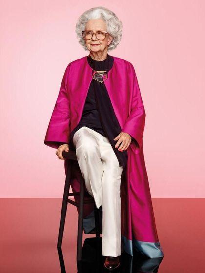 Nenek Berusia 100 Tahun Jadi Model Majalah Vogue Inggris