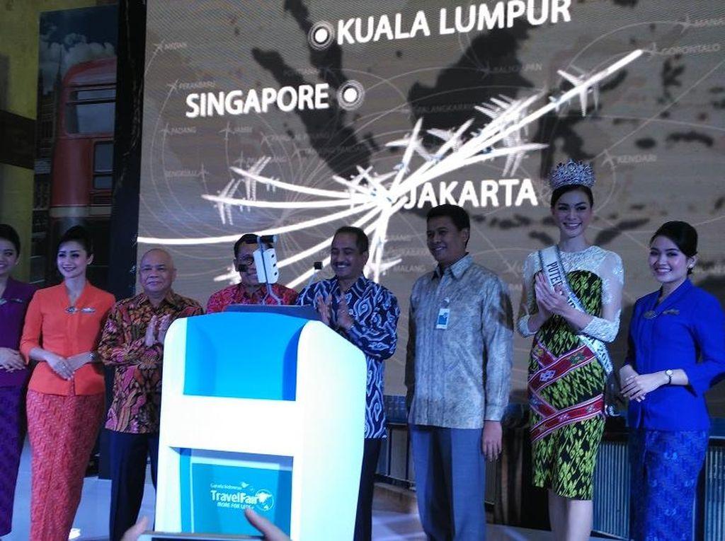 Garuda Indonesia Travel Fair 2016 Resmi Dibuka di JCC Senayan