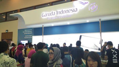 Garuda Indonesia Promo Gila-gilaan di GATF 2016
