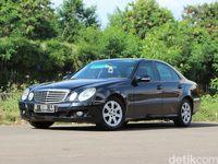 Mercedes-Benz E200 Kompressor Bekas Taksi Blue Bird, Bagaimana Kualitasnya?