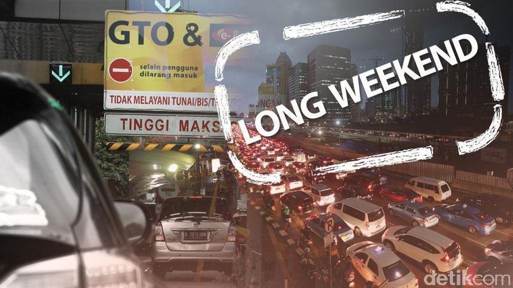 Antrean Jelang Rest Area KM 19 Tol Cikampek Mengular Hingga 15 Km