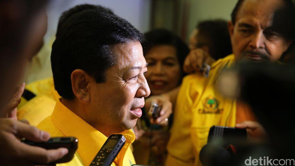 Novanto: Golkar Tak Akan Ambil Kursi Menteri dari PKB