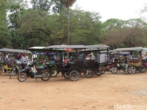 Remork, Transportasi Unik di Siem Reap Kamboja