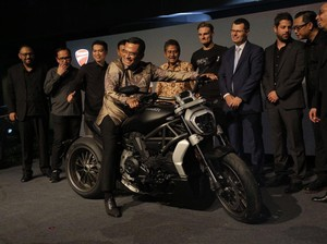 Menperin Ajak Ducati Bikin Pabrik di Indonesia