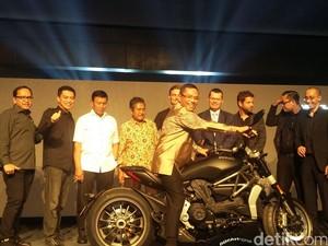 Dua Motor Ducati Diluncurkan, Menperin: Pakai Ducati Lebih Macho