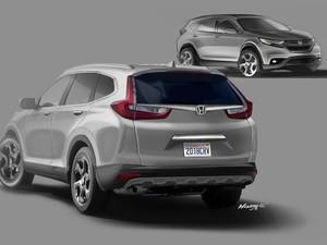 Beginikah Tampilan Honda CR-V Generasi Terbaru?