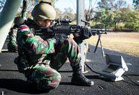Juara Lomba Tembak AASAM, TNI AD Pakai Senjata Buatan Dalam Negeri