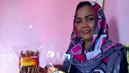 Modal Rp 100.000, Dewi Sukses Raup Belasan Juta per Bulan dari Dendeng