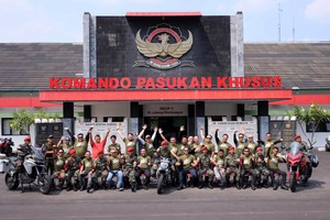 Tour de Military Ducati Indonesia