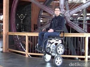 Toyota Buat Kursi Roda Robot