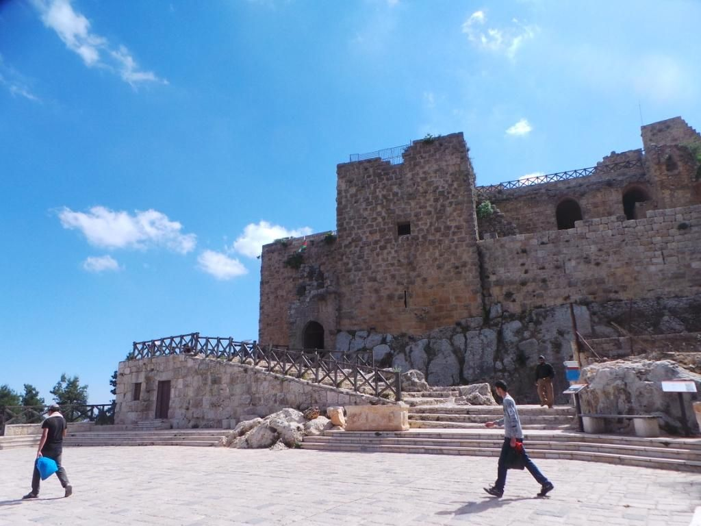 Benteng Perkasa Warisan Salahuddin di Yordania