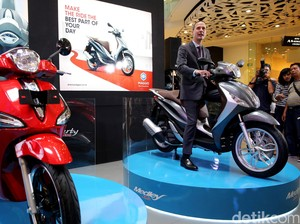 Kapan Produksi Motor di Indonesia, Piaggio?