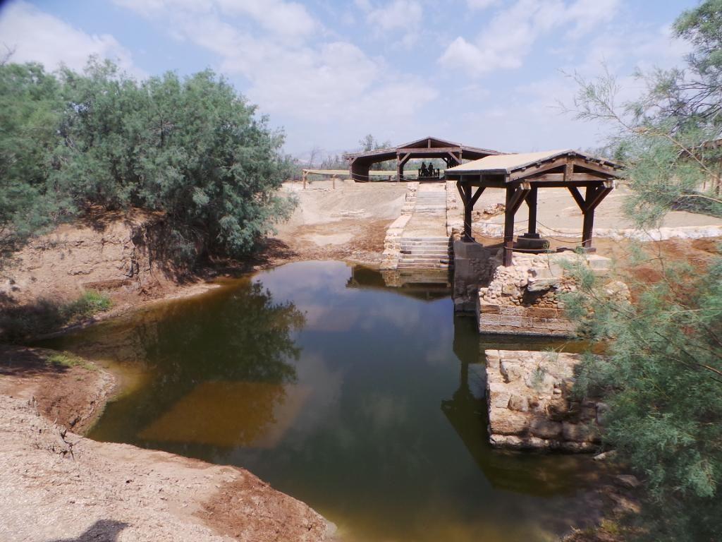 Ziarah ke Lokasi Pembaptisan Yesus di Yordania