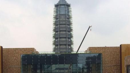 Pagoda Porselen Di Nanjing, Tua Tapi Futuristik