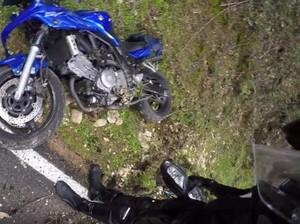 Pemotor Ini Selamat Saat Kecelakaan, Dipercaya karena Pakai Rompi Airbag