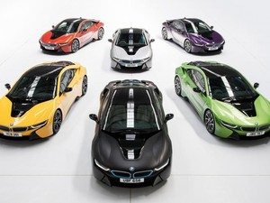 BMW i8 Lebih Berwarna