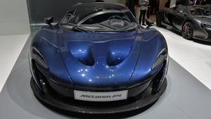 McLaren Hypercar Bertenaga Listrik